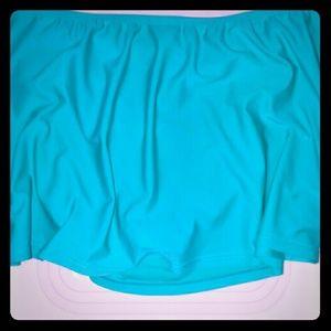 NWOT swim skirt